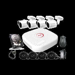 kit video-surveillance 4 caméras